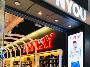 NYOU STORE AYALON WITH BRANDS LIKE  PEPE JEANS , REPLAY , GUESS , GANT , LACOSTE , ADIDAS