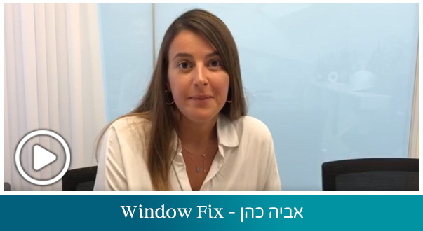אביה כהן - Window Fix